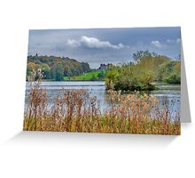 Great Lake Castle Howard Greeting Card