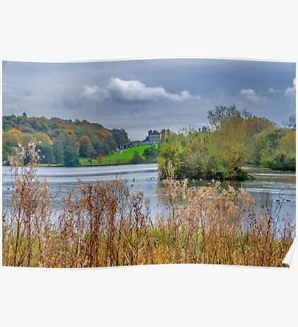 Great Lake Castle Howard Poster