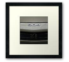 Peugeot Framed Print