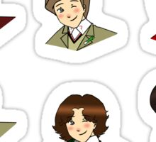 Chibi Doctor Who stickers Sticker