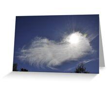 Exploding Sun Greeting Card