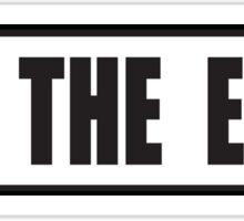 SKI THE EAST sticker Sticker