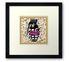 Beauty Grenade Framed Print