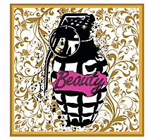 Beauty Grenade Photographic Print