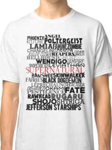 Evil of Supernatural Classic T-Shirt