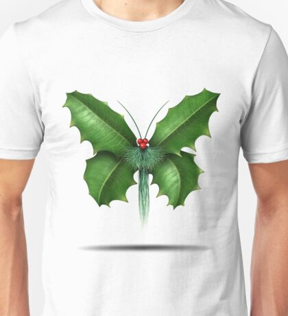 Holly Butterfly Unisex T-Shirt