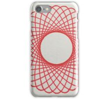 red spiral 2 iPhone Case/Skin