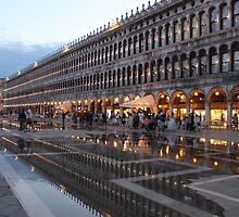 Venice acqua alta by Elena Skvortsova