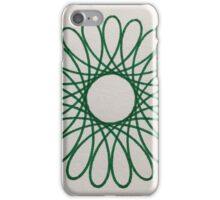 Green Spiral iPhone Case/Skin