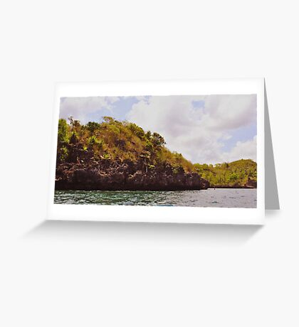 Island - Philippines Greeting Card