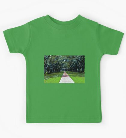 Oak Alley Plantation Louisiana Kids Tee