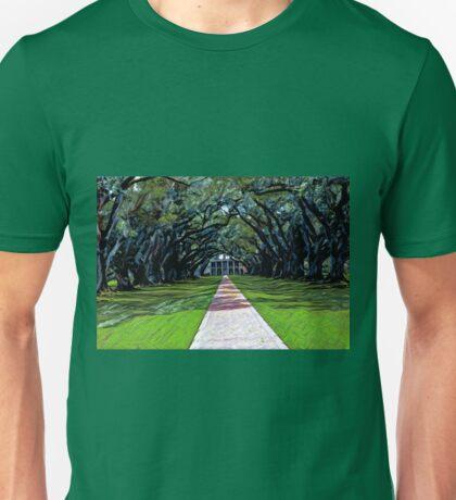 Oak Alley Plantation Louisiana Unisex T-Shirt