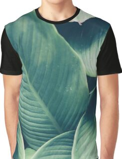 NATURE - GREEN - LEAVES - VEGETATION Graphic T-Shirt