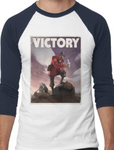 TF2 - Victory Poster/shirt Men's Baseball ¾ T-Shirt