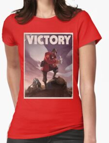 TF2 - Victory Poster/shirt Womens Fitted T-Shirt