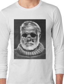 """Ernest """"Skull"""" Hemingway Long Sleeve T-Shirt"""