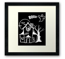 Nightmare House Framed Print