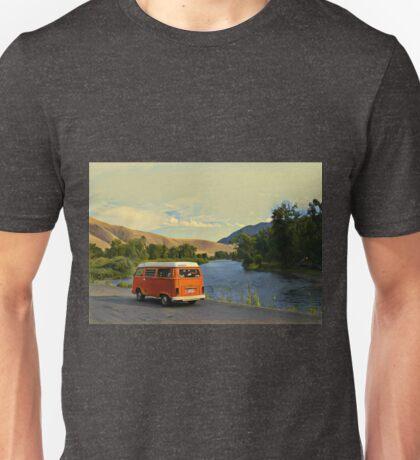 River View Bay Window Volkswagen VW Westfalia Unisex T-Shirt