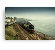Tangmere at Dawlish  Canvas Print