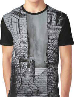 Alley walks. Graphic T-Shirt