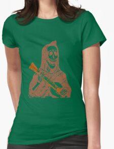 Halloween Minstrell Womens Fitted T-Shirt