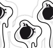 Löcher  einschüsse  Sticker