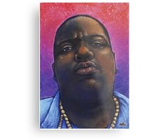 Biggie Smalls Hip Hop Portrait Metal Print