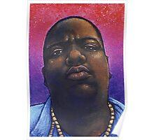 Biggie Smalls Hip Hop Portrait Poster