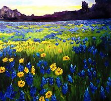 Painted Landscapes by kellyfineart