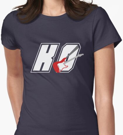 KO With A Base Womens Fitted T-Shirt