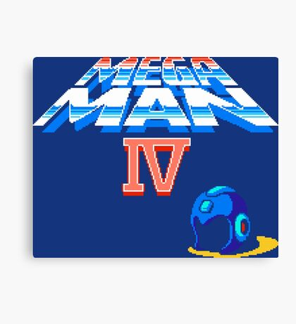 Mega Man 4 (NES) Canvas Print