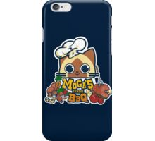 MOGA'S FAMOUS BBQ iPhone Case/Skin