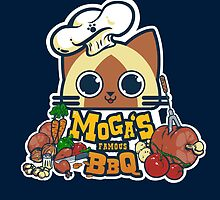 MOGA'S FAMOUS BBQ by coinbox tees