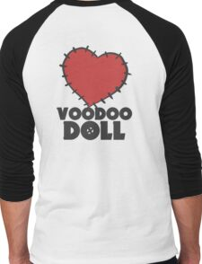 VIXX - voodoo doll heart Men's Baseball ¾ T-Shirt