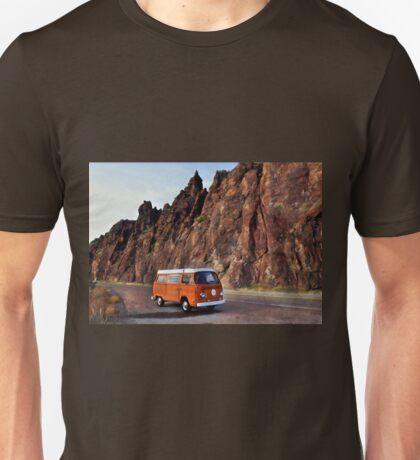 Idaho Volkswagen Bay Window Westfalia Camper Unisex T-Shirt