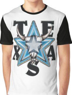Lone Star Skull - Wh. Bkg. Graphic T-Shirt