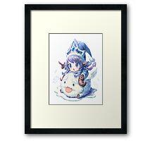 Cute Winter Wonder Lulu - League of Legends! Framed Print
