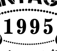 VINTAGE 1995 AGED TO PERFECTION Sticker