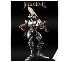 Sir Dan of MediEvil Poster