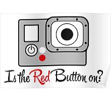 The Red Button Poster