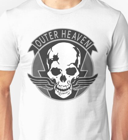 OUTER HEAVEN PAIN Unisex T-Shirt