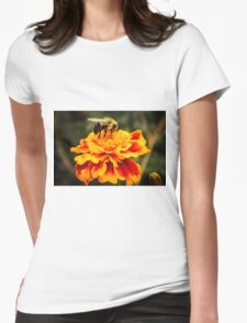 Autumn Marigold Womens Fitted T-Shirt