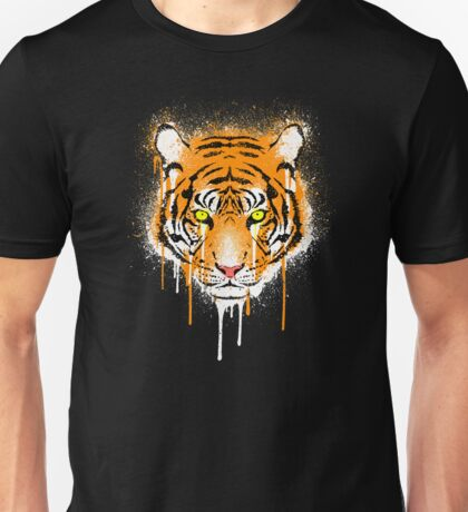 Graffiti Tiger Unisex T-Shirt