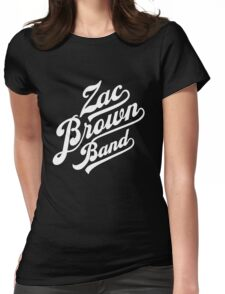 Zac Brown Band Logo Womens Fitted T-Shirt