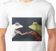 Frog Love -The French Kiss Unisex T-Shirt