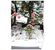 The wedding table Poster