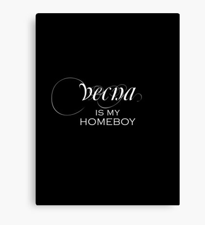 vecna is my homeboy (Critical Role) Canvas Print