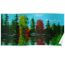 Reflection Pond Poster
