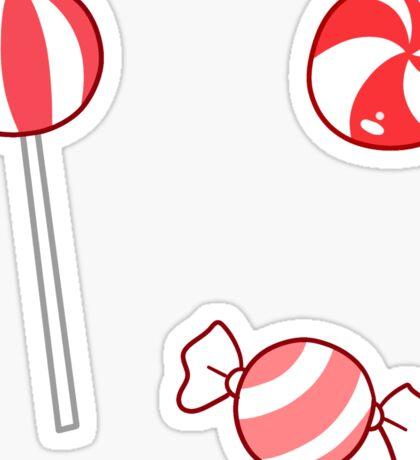Peppermint Candy Sticker
