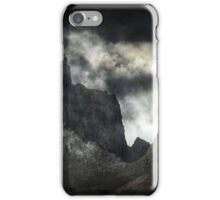 The Death of a Mountain. iPhone Case/Skin